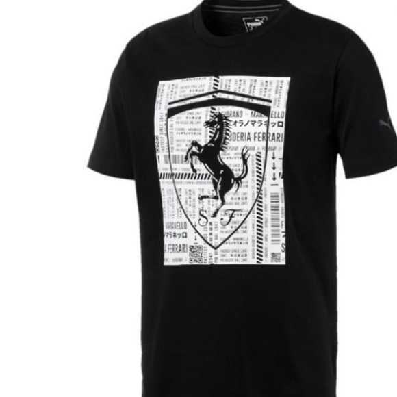 Puma ferrari sf tee - Motorsport black T-shirt NWT